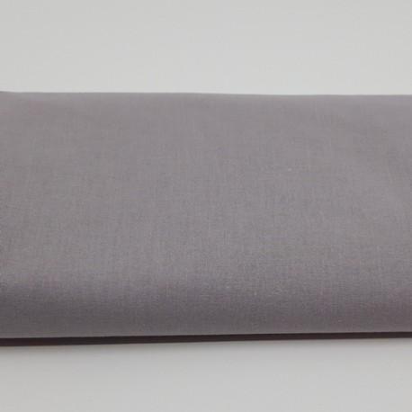 tissu uni domotex 100 % coton coloris gris