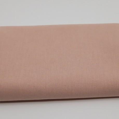 tissu uni domotex 100 % coton coloris peau de pêche