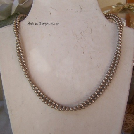 Nacré Platinium Pearl