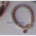 "Bracelet ""Strass"" argent"