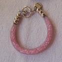 """Bracelet """"Strass"""" rose"""