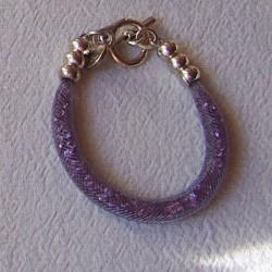 "Bracelet ""Strass"" violet"