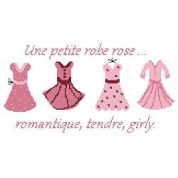 Une petite robe rose