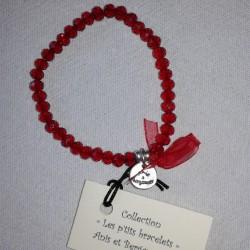 Les P'tits Bracelets coloris Rouge Siam
