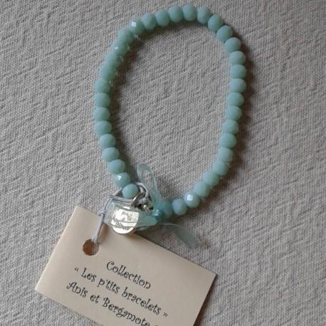 Les P'tits Bracelets coloris Menthe Opaque
