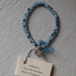 Les P'tits Bracelets coloris Turquoise scarabé