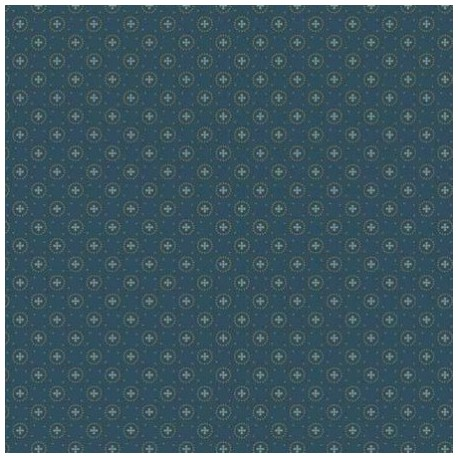 tissu patchwork bleu marine Collection Trinkets de Makover
