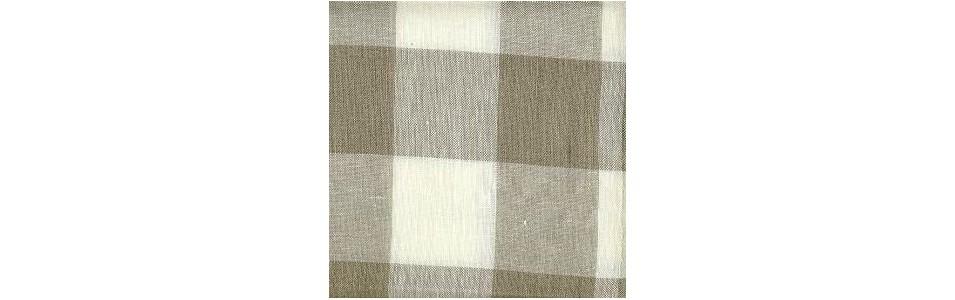 toile à broder de lin 11 fils par cm graziano garnds carreaux