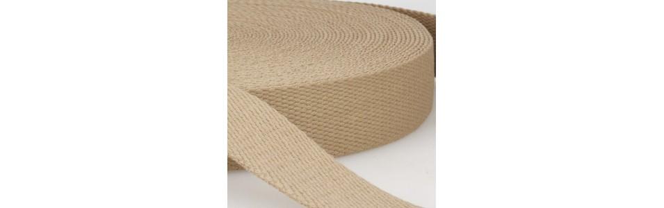 sangles de 3 cm de large en 100 % coton pour les anses de sac