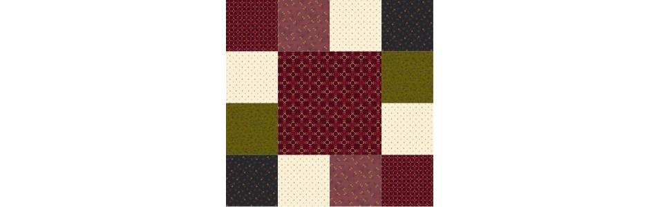 tissus patchwork en coupons ou au mètre, classés par couleur