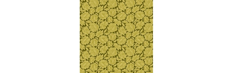 les tissus patchwork anis et bergamote classés par motifs