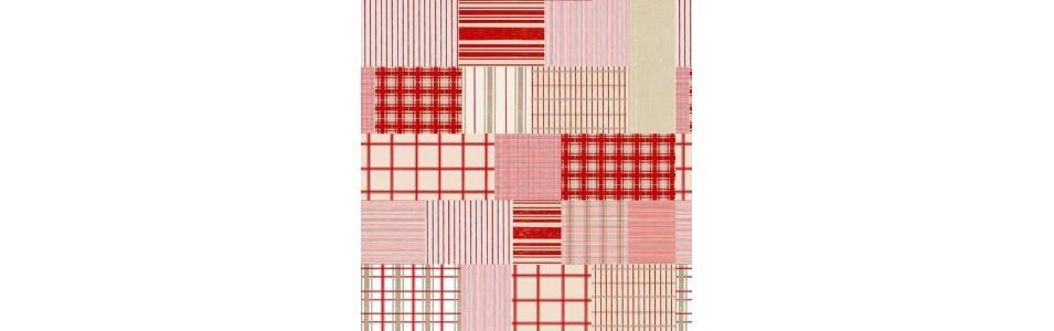 les tissus patchwork à carreaux