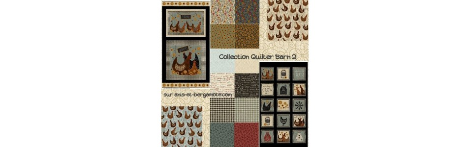 collection de tissus patchwork benartex fabric