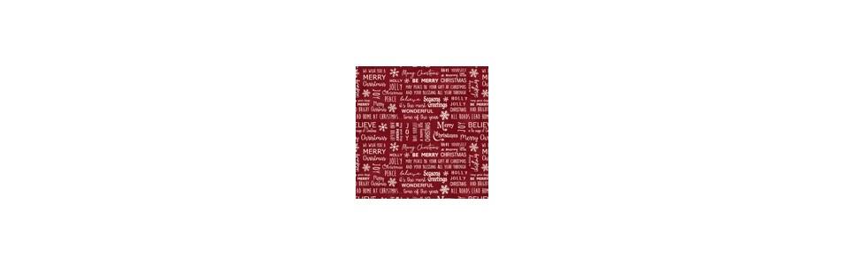 tissu patchwork coton imprimés d'alphabets ou d'écritures