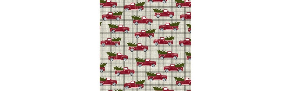 tissu patchwork collection jingle bell time
