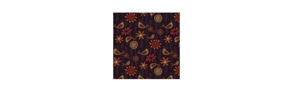 dans cette catégorie, les tissus patchwork à fleurs