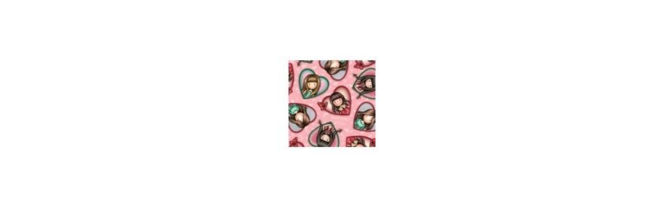 Les gorjuss : tissus pour le patch, la decoration, collections Santoro