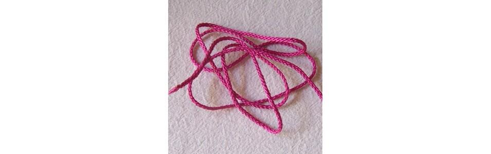 les cordons, cordelières en polyester