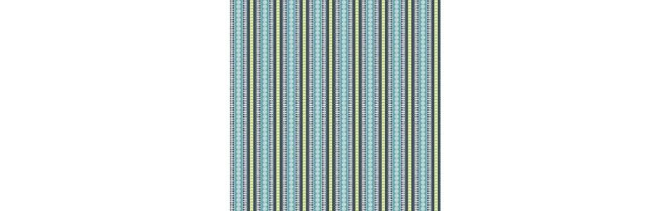du tissu patchwork rayé avec des rayures dans différents coloris