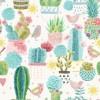 Cactus et oiseaux