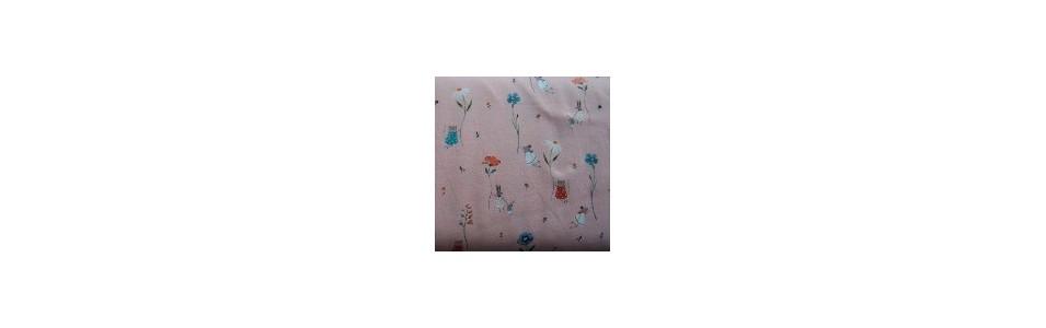 tissu jersey imprimé pour  la couture, un tissu parfait pour enfants
